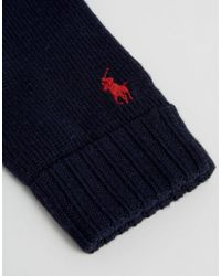 Polo Ralph Lauren - Blue In Merino Wool for Men - Lyst