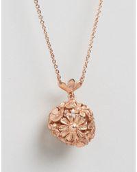 Bill Skinner - Metallic Floral Orb Pendant - Lyst