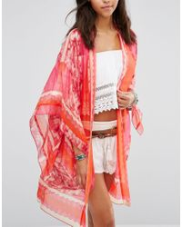 Anna Sui - Red Exclusive Kimono - Lyst