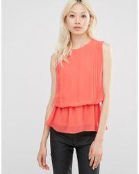 Y.A.S | Pink Hibiscus Maxi Vest Top | Lyst