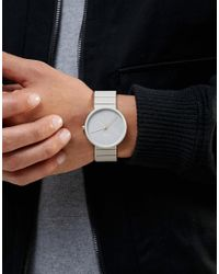 Braun - Gray Classic Minimalist Watch In Grey for Men - Lyst