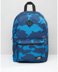 d215a105f98 New Balance Camo Backpack In Navy - Navy in Blue for Men - Lyst