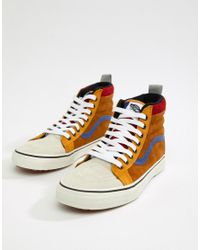 f80e140647 Vans Sk8-hi Mte Trainers In Brown Vn0a33txuc9 in Yellow for Men - Lyst