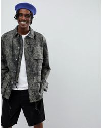 Weekday - Black Limited Edition Paz Coach Jacket for Men - Lyst