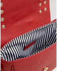 Yoki Fashion - Red Eyelet Cross Body Bag - Lyst