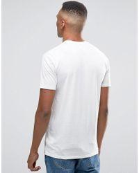 Globe - White Hibiscus T-shirt for Men - Lyst