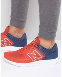New Balance | 574 Trainers In Red Mfl574pb for Men | Lyst