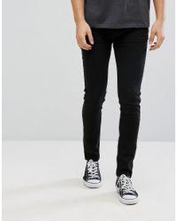 D-Struct - Black Stretch Skinny Jeans for Men - Lyst