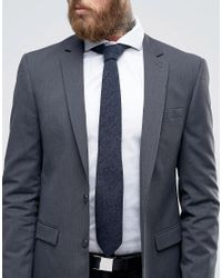 Féraud - Gray Tie Charcoal Boucle for Men - Lyst