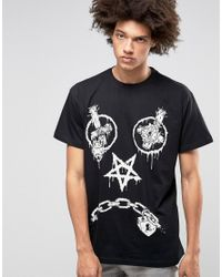 LONG Clothing - Black Long X Mishka Vex T-shirt In Oversized Fit for Men - Lyst