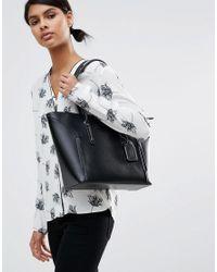 ALDO - Black Minimal Tote Bag - Lyst