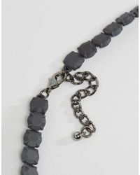 Girls On Film - Gem Necklace - Black - Lyst