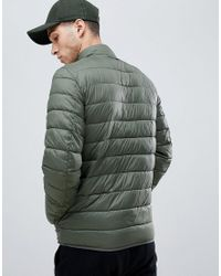 Barbour - Penton Fibre Down Padded Jacket In Green for Men - Lyst