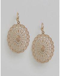 Nylon - Metallic Filigree Earrings - Lyst
