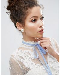 ASOS | Multicolor Super Faux Pearl Stud Earrings | Lyst