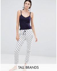 New Look | Blue Star Pyjama Set | Lyst