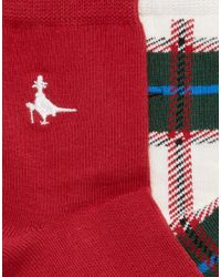 Jack Wills - White 2 Pack Pullborough Socks - Lyst