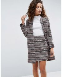 ASOS | Multicolor Edge To Edge Stripe Jacket Co-ord | Lyst