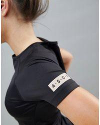 ASOS 4505 - Black Petite Training T-shirt In Tight Fit - Lyst