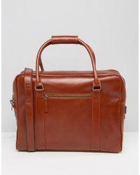 Royal Republiq | Brown Duke Leather Holdall for Men | Lyst