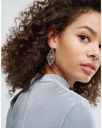 Nylon - Metallic Vintage Style Earrings - Lyst