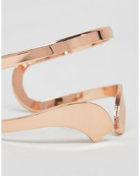Nylon - Metallic Geo Cuff Bracelet - Lyst