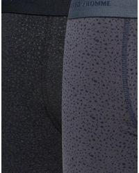 SELECTED - Blue Trunks 2 Pack for Men - Lyst