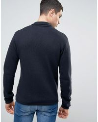 Casual Friday - Blue Knitted Blazer for Men - Lyst