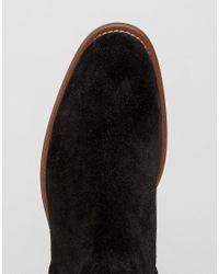 ALDO - Black Bilissi Suede Chelsea Boots for Men - Lyst