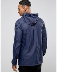 Nicce London - Blue Windbreaker Jacket for Men - Lyst