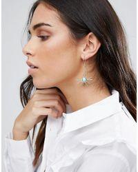 Ashiana - Metallic Sunrise Swing Earrings - Lyst