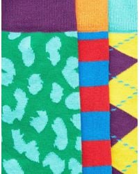 Happy Socks - Multicolor Hs By 3 Pack for Men - Lyst