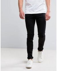 Cheap Monday | Skinny Fit Jeans In Tux Black for Men | Lyst