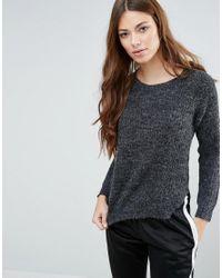 Blend She | Gray Nette Sweater | Lyst