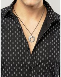 Simon Carter - Metallic Claw Necklace Exclusive To Asos for Men - Lyst