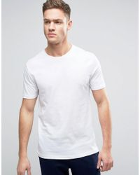 Reiss | White Crew Neck T-shirt for Men | Lyst