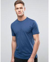 Reiss | Blue Crew Neck T-shirt for Men | Lyst