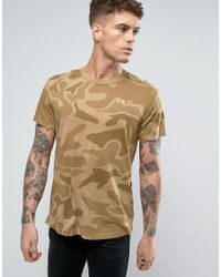 G-Star RAW | Natural Beraw Qane Camo Relaxed T-shirt for Men | Lyst