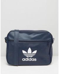 4f9cebcd2e9 adidas Originals Adidas Airliner Bag in Blue for Men - Lyst