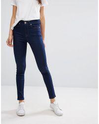Oasis | Blue Ankle Grazer Skinny Jeans | Lyst