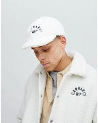 d9ccba317b4 Carhartt WIP Pile Cap In Wax White in White for Men - Lyst
