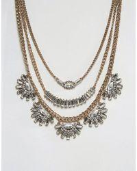 ALDO | Metallic Statement Necklace | Lyst