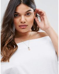ASOS   Metallic Colorful Pineapple Necklace   Lyst