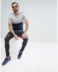 ASOS - Blue Slim Chinos for Men - Lyst