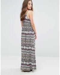 Vero Moda - Multicolor Super Easy Printed Maxi Dress - Lyst