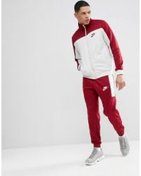 39f95bb08e Nike Poly Tracksuit Set In Red 861774-677 in Red for Men - Lyst