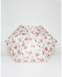 Cath Kidston - Multicolor Tiny 2 Spray Flowers Cream Umbrella - Lyst