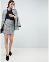 ASOS - Multicolor Design Mini Skirt In Coloured Check - Lyst