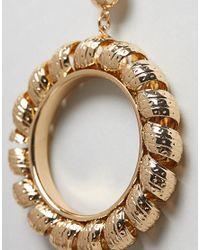 Ivyrevel - Metallic Statement Drop Hoop Earrings - Lyst