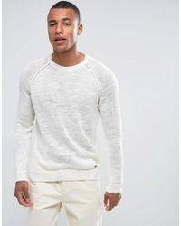 Esprit - Multicolor 100% Linen Raglan Sleeve Jumper for Men - Lyst